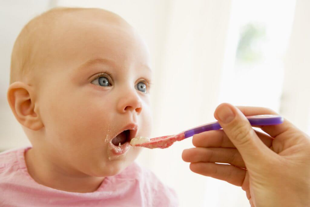 Babyvoeding potje of vers