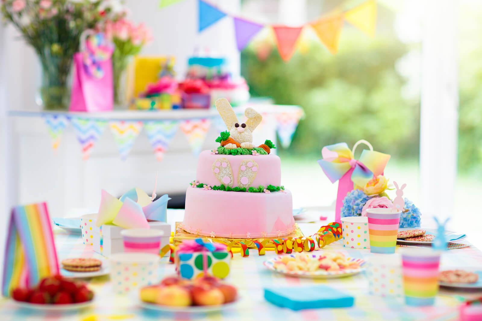 bigstock Kids Birthday Party Decoration 298194763