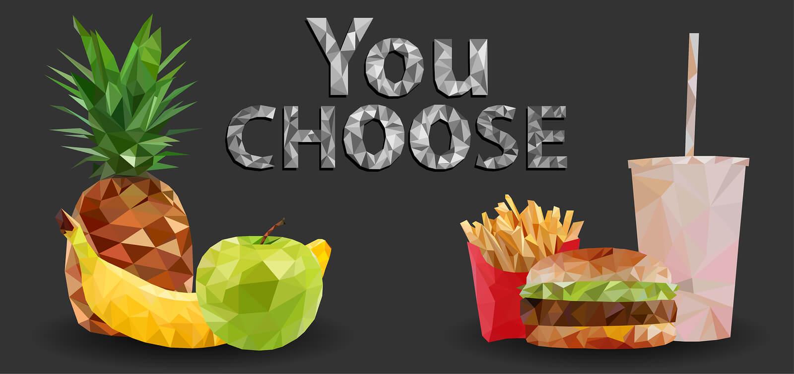 gezond of ongezond eten