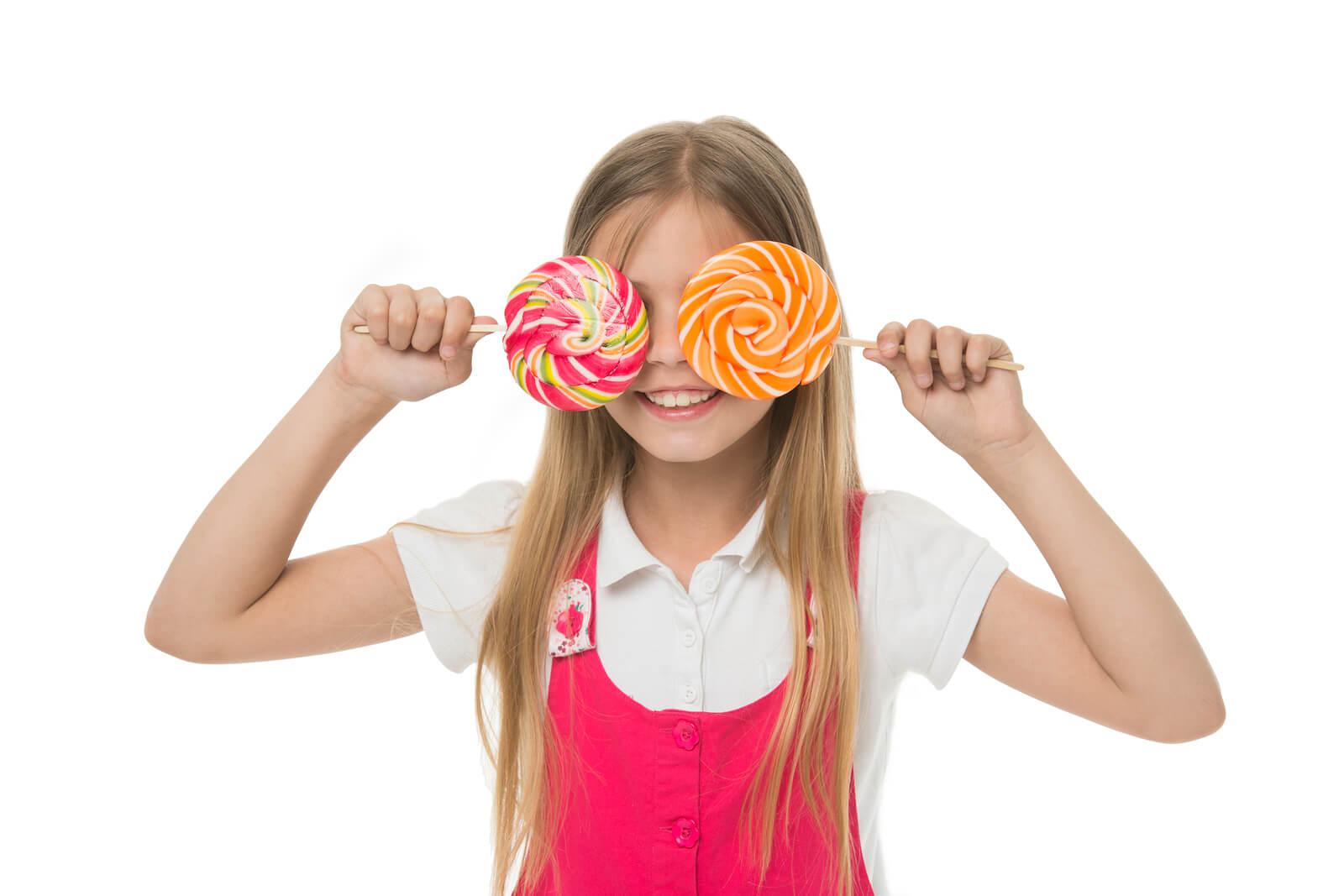 bigstock How Much Sugar Ok Girl Cute S 257205661