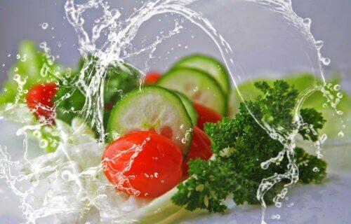 groeten en fruit salade