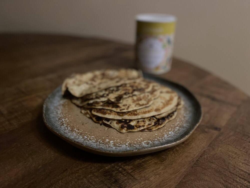 pannenkoeken zonder ei en melk